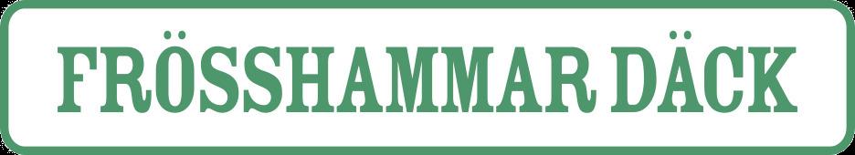 Frösshammar Däck logga