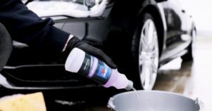 Högkoncentrat bilschampo
